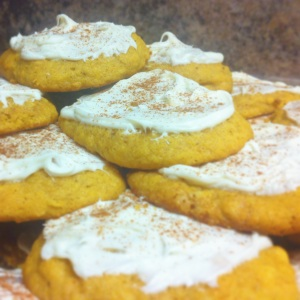 Parent Pretty Pumpkin Cookies