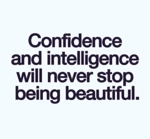 Confidence and intelligence